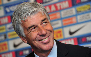 New Inter Milan's coach Gian Piero Gaspe