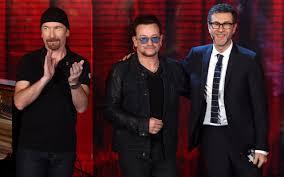 fabio fazio e U2