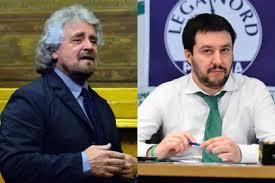 MATTEO SALVINI E BEPPE GRILLO