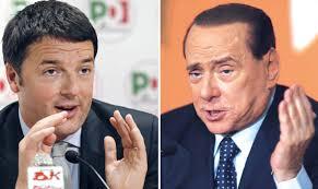 Renzi- Berlusconi
