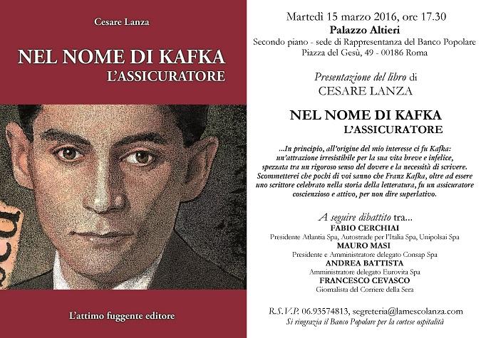 Invito 15 marzo libro Kafka