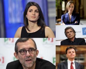 candidati sindaci Roma
