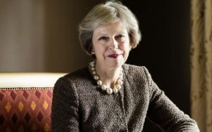 Theresa May big